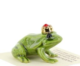 Birthstone Frog Prince July Simulated Ruby Miniatures by Hagen-Renaker image 4