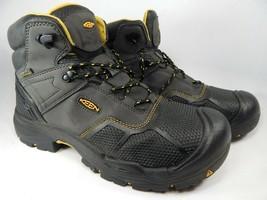 Keen Logandale Size US 12 2E WIDE EU 46 Men's WP Steel Toe Work Boots 1017828EE