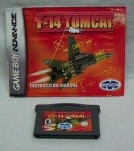 F-14 TOMCAT NINTENDO GAME BOY ADVANCE GAME 2001 with MANUAL - $14.85