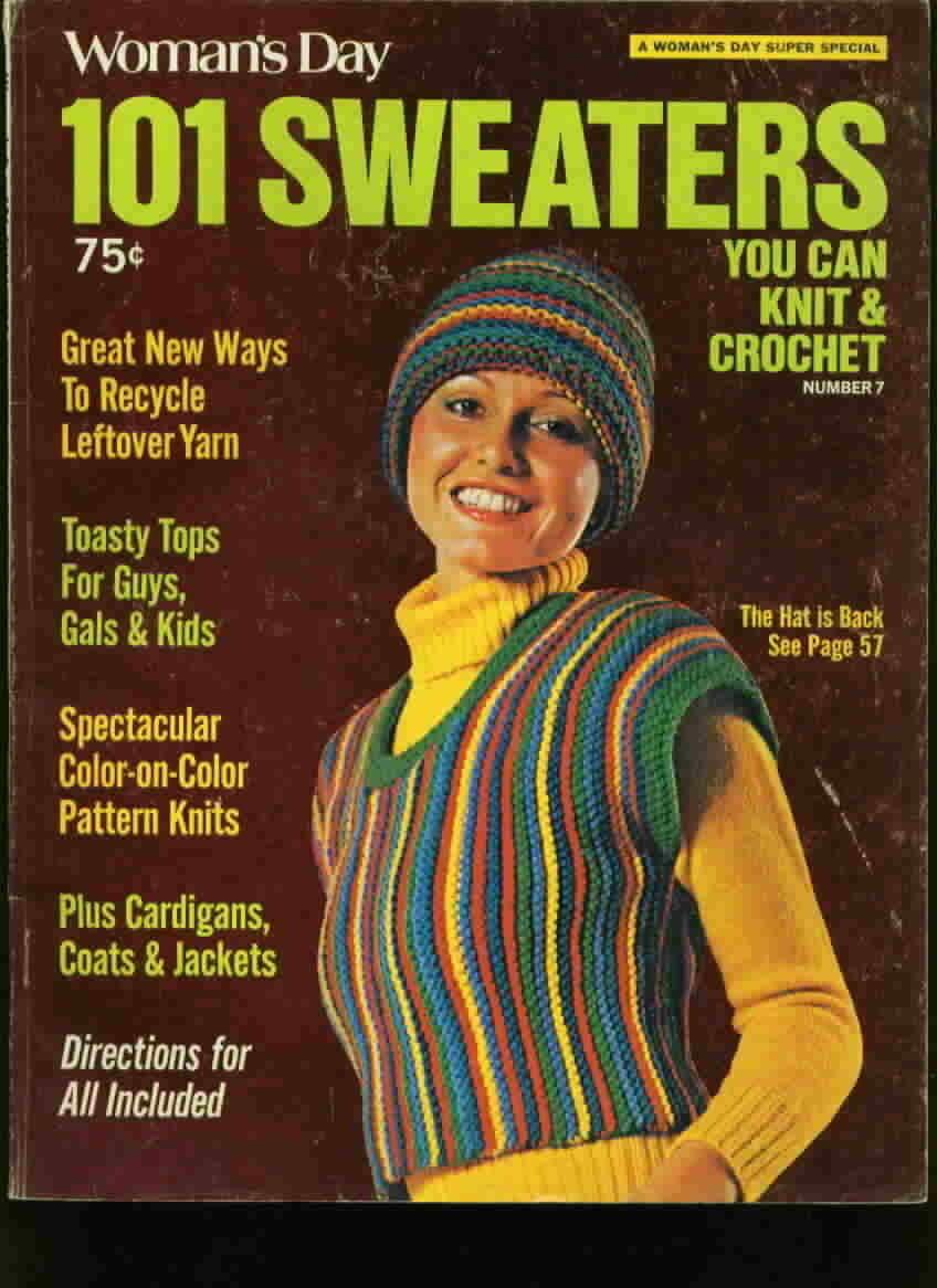 Womans day 101 sweaters knit and crochet