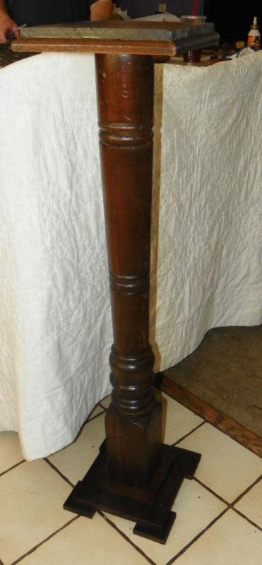 Tall Oak Fern Stand Plant Stand