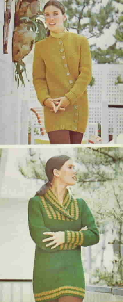 Vintage Woman's Day 101 Sweaters Knit and Crochet