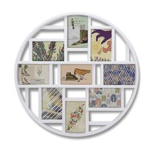 Wall Picture Frame, Umbra Luna 9 - White - $46.00