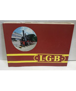 LGB Train Catalog 1982 Vintage West Germany - $29.39