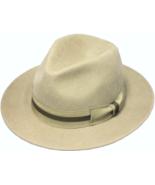 Henschel Wool Felt Outback Matching Grosgrain Ribbon Band Medium Size Br... - $62.00