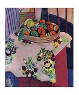 HENRI MATISSE 1939 LITHOGRAPH w/COA. Naranja Oranges Classic Print VERY ... - $182.88