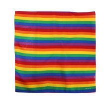 "12 Pack Gradient Rainbow Cotton Head Wrap Scarf Bandana Ombre Colors 22"" X 22"" image 12"