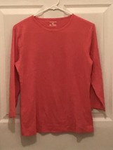 Jones New York Sport Fuchsia Pink Long Sleeve Knit Top Size L - $9.50