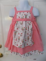 Janie and Jack Sundae Dress W/Matching Bottoms  Size 12-18 Months Girl's... - $31.20