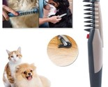 Electric Pet Dog Grooming Comb Cat Hair Trimmer Knot Out Remove Mats Tangles Too