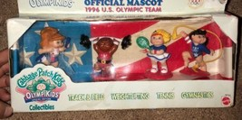 Cabbage Patch Kids Special Edition Olympic Collectible Figurines Dolls S... - $24.95