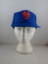 New York Mets Hat (VTG) - Classic Trucker by Annco - Adult Snapback  - $49.00