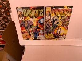 WARHEADS (MARVEL COMICS UK) 1992-1993 VF COMPLETE 14 BOOK COLLECTION  - $12.20