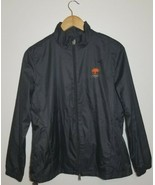 Greg Norman Womens Essentials Windbreaker Jacket Black Medium New  - $38.61