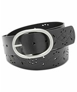 Fossil Women's Floral Perforated Leather Belt - $32.90+