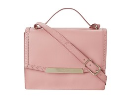 Cole Haan Women's Gladstone Leather Shoulder Top Handle Bag Blush Pink  - $182.77