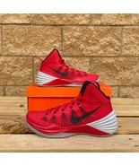 NIKE HYPERDUNK 2013 MEN'S RED CLASSIC HIGH-TOP BASKETBALL SNEAKER 599537... - $135.58