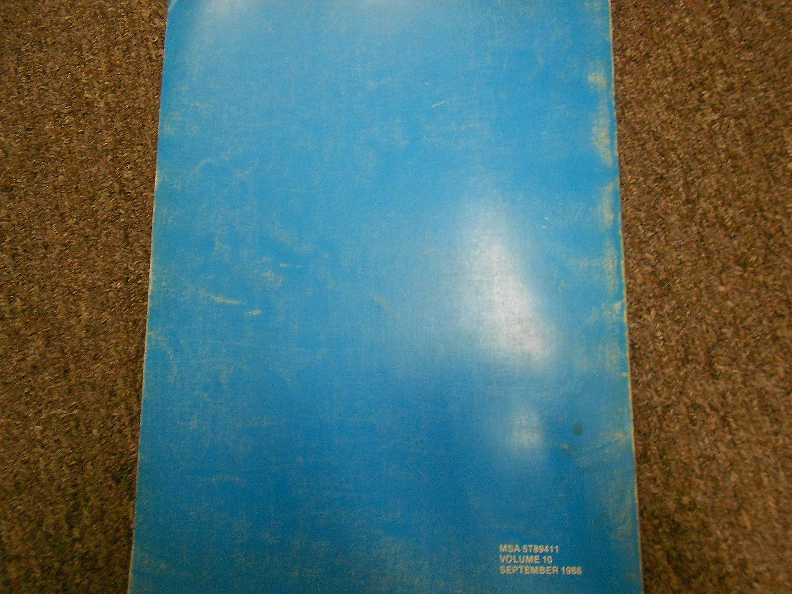1987 Subaru Service Bulletins Service Repair Shop Manual FACTORY OEM BOOK 87