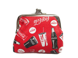 Coca-Cola Coin Purse Snap Closure Enjoy Coca-Cola - BRAND NEW - $11.39