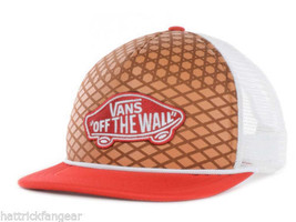 VANS Off the Wall Classic Sole Trucker Style Snapback Cap Hat  OSFM - $19.94