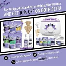 Hard Wax Beans Kit [6 Bags + Pre & After Spray] Hard Wax Beads Hair Removal - Wa image 7