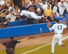 Derek Jeter The Catch Yankees Vintage 8X10 Color Baseball Memorabilia Photo - $6.99