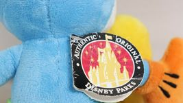 """Disney Parks 10"""" Blue Yellow Mickey Mouse Stuffed Plush Toy With Original Tags image 7"""