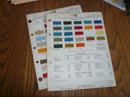 1971 Chevy GMC Ford Intern'l Commercial Ditzler PPG Paint Chips - $16.39