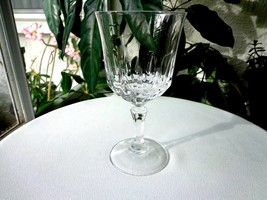 "Cris D' Arques St. Germain Pattern Clear Crystal Water Goblet 6 1/2"" Ret... - $16.99"