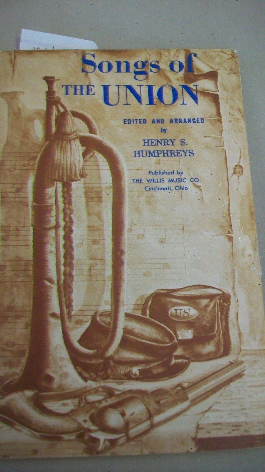Primary image for Songs of the Union by Henry S. Humphreys 1961 soft cover from Willis Music Co.