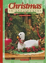 """Hard Covered Book- """"Christmas In The Country"""" -House of White Birches-GentlyUsed - $18.00"""