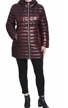 Calvin Klein Winter Outerwear Washable puffer Down Hooded Jacket Coat pl... - $188.09