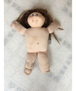 cabbage patch doll 1978  1982 real red hair Blue Eyes Cloth Body - $25.83