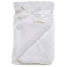 Blankets & Beyond White Christening Gift Blanket Lovey Baby Boy Girl Unisex - $21.09 CAD