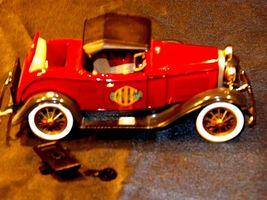 ERTL 1930 Ford Model A Convertible Roadster Bank AA19-1629 Vintage #208 image 11