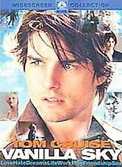 BRAND NEW FACTORY SEALED WIDESCREEN DVD Vanilla Sky
