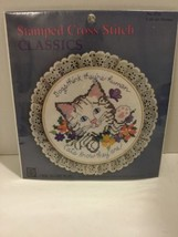 Cats Are Human Cross Stitch Kit Designs For The Needle New Sealed  - $7.69
