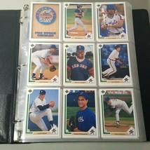 Upper Deck Baseball 800 Card Complete Set in Sleeves and Binder 1991  - $35.99