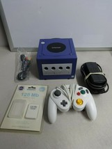 TESTED Nintendo GameCube Video Game Console System + Controller & NIP Memory #26 - $108.89