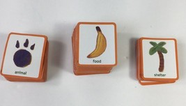 Cranium Zooreka Zoo Board Game Orange Resource Cards Square Replacement ... - $8.01