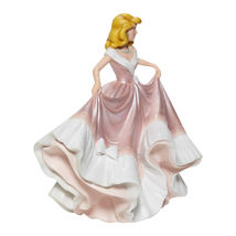 "7.75"" Tall Cinderella in Pink Dress Figurine Celebrating 70th Anniversary Disney image 6"