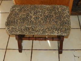 Walnut Carved Eastlake Footstool Stool - $299.00