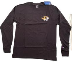 Champion NCAA Mens Champ Pride Long Sleeve Tee Black Medium - $19.80