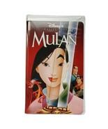 Mulan VHS Tape Clamshell 1998 Disney Princess Eddie Murphey Ming-Na Wen  - $9.99