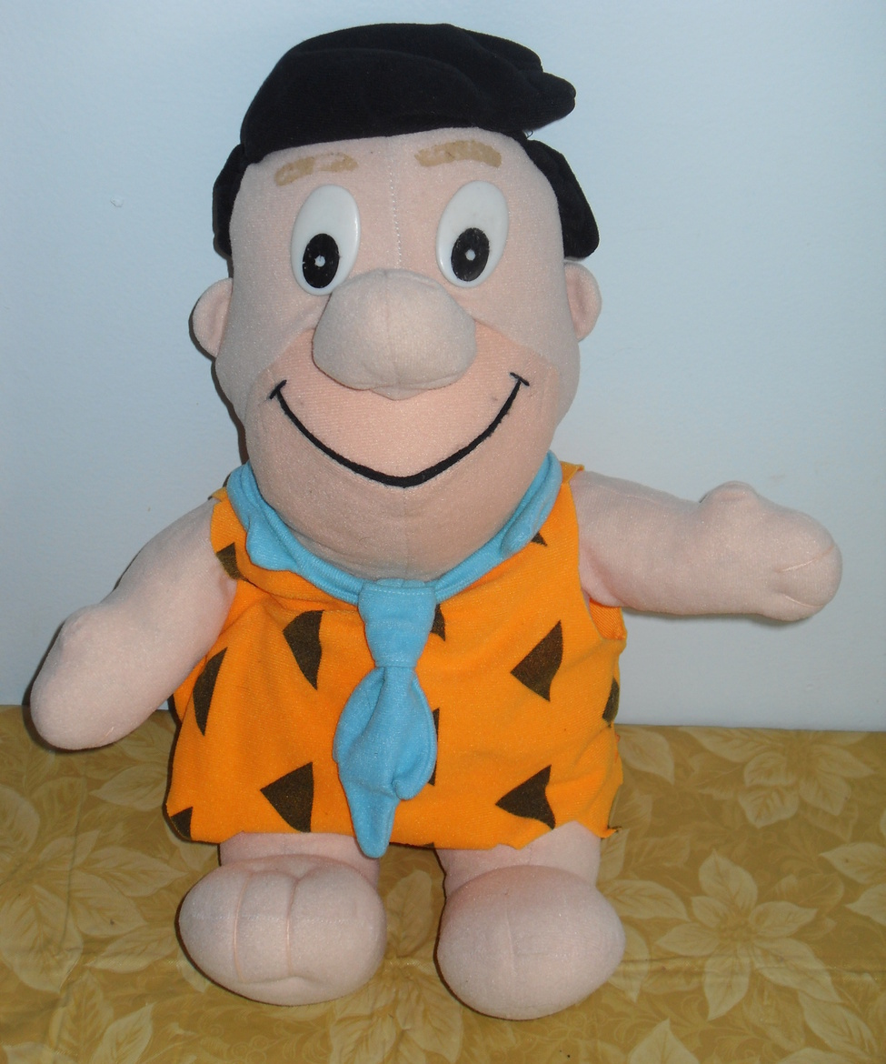 Flintstones  Fred Flintstone Stuffed Toy