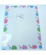Polka  Designer Letter Size Computer Paper - 40 sheets - $9.46
