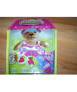 Lil Luvables Fluffy Factory Bear Doll Clothes Pink Dress & Tiara Costume... - $10.00