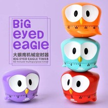 Cartoon Eagle Timers Mechanical Kitchen Cooking Timer Manual Timer Counters - $10.99