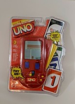 UNO Electronic Handheld Travel Card Game Mattel 1999 Model 68877 New In Package - $44.99