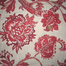 Vintage Robert Allen Home Botanical Fabric Cott... - $200.00